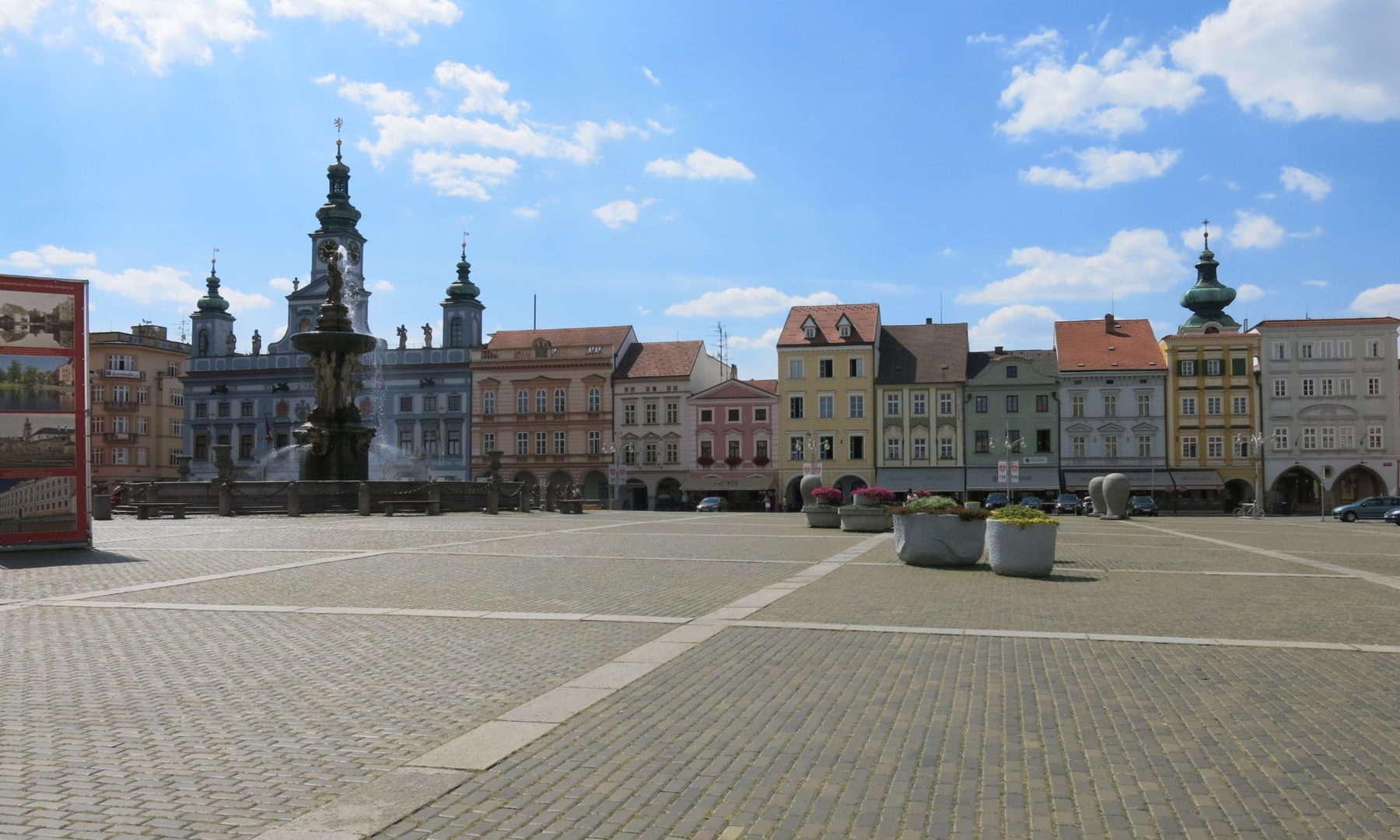 České Budějovice, místo k životu