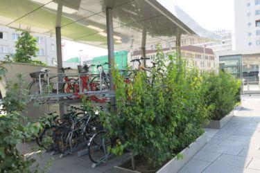 Graz přednádražní prostor