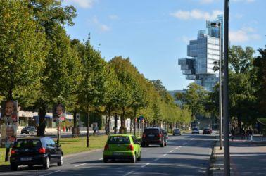 Hannover auta kolem centra projedou