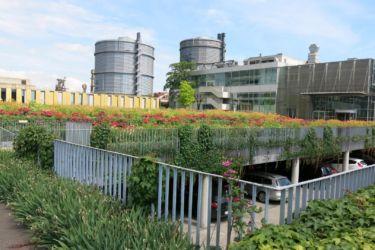 Linz VOEST ALPINE podzemní parkoviště