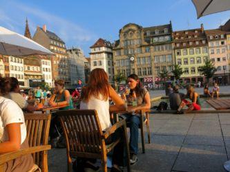 Strassburg náměstí bez aut