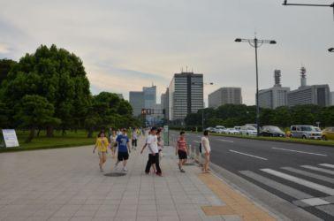 Tokio u centrálního parku