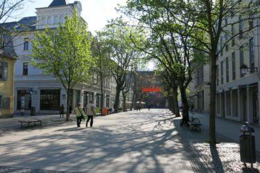 Weimar pěší zóna