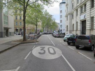 Wien ulice centrum
